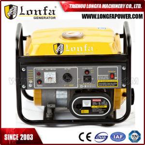 작은 산출 1.5kVA 단일 위상 AC 가솔린 발전기
