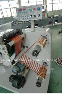 Corte longitudinal e rebobinagem automática da Máquina para papel e filme