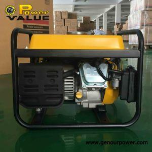 Powervalue 1kw il nuovo generatore della benzina di disegno con il motore di marca per uso domestico