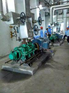 多段式油圧不用な送油ポンプ