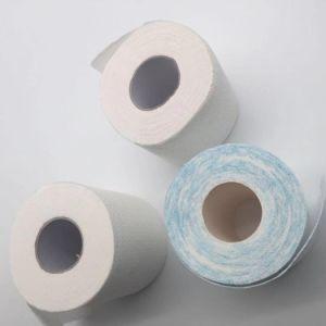 3 Ply слоя печатной Core туалет в ванной комнате рулон ткани