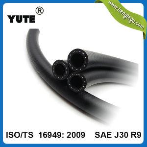 Yuteは5/16インチの重油抵抗力があるFKMのゴムホースを編んだ