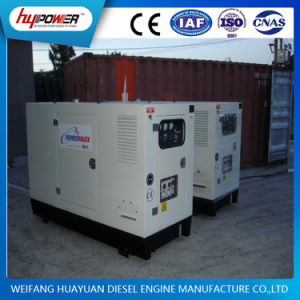 Faible bruit 125kVA Groupe électrogène diesel insonorisé avec R6105azld