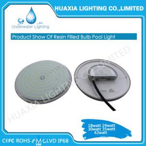 Теплый белый пластмассовый заполнены PAR56 светодиодные лампы освещения под водой