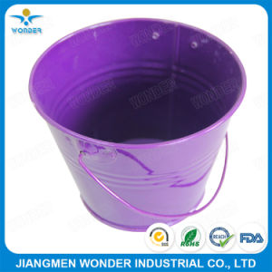 Buena resistencia UV alto brillo de color púrpura, revestimiento de polvo
