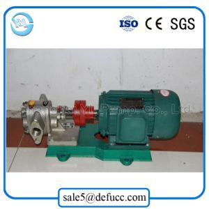 De Autocebado de transferencia de la bomba de aceite lubricante de engranajes accionada por motor eléctrico