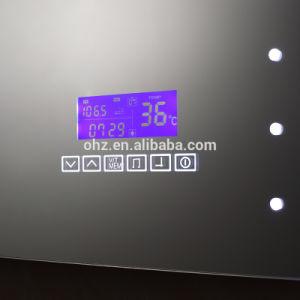 Salle de bains en acier inoxydable Miroir LED intelligent avec ...