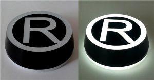 3D 사업 달무리 Backlit LED는 연자 활자가 스테인리스 채널 편지 LED 달무리 Backlit 3D LED 로고에 의하여 주문을 받아서 만들어진 Signage를 닦은 편지 채널 편지를 서명한다