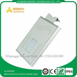 Migliore indicatore luminoso di via solare di vendita della lega di alluminio di prezzi di fabbrica 15W-100W LED