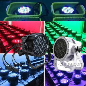 カラー変更IP65は54X3w LEDの同価ライトを防水する