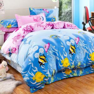 安い軽量のマイクロポリエステルによって印刷される寝具の寝具