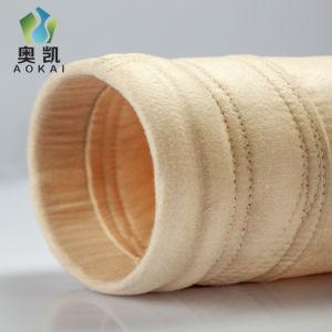 50%PPS ha mescolato 50% PTFE con i sacchetti filtro della polvere della tela di PTFE per la centrale elettrica