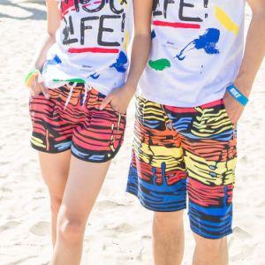 Shorts poco costosi della spiaggia degli amanti di modo dell'OEM