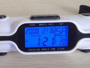Wekker Met Licht : De multi kalender van de thermometer van de functie draagbare mini