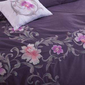 キルトカバー枕カバーシートの新しい100%年の綿のPercaleの寝具セット