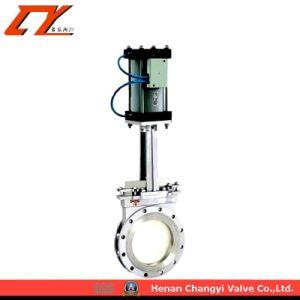 De standaard Actuator van het Roestvrij staal Pneumatische Prijzen van de Klep van de Poort van het Mes