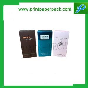 Custom Naipes resistente caja de embalaje de papel plegado de verificación de tarjeta de negocios