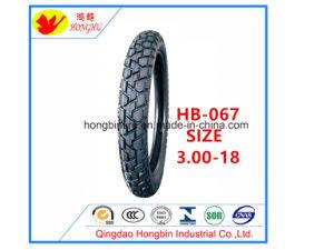 Motorrad-Reifen des Hochleistungs--Motorrad-Gummireifen-3.00-18