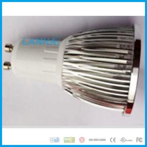 LEIDENE van de MAÏSKOLF E14/E27/GU10/Gu5.3/MR16 van de Kop van de Lamp van het aluminium 5W Schijnwerper