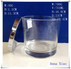 Vidrio Austraila vela frascos con tapas de pulido No2