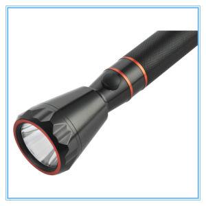Длинный диапазон высокого качества и дешевые оптовые перезаряжаемый водонепроницаемый 3W ручной фонарик