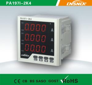 72*72mm Factory Price LED Display WS Three-Phase Digital Ampere Meter