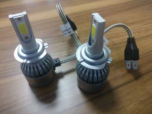 工場は9005 9006 Hb4 H11 H4 H7 LED H1 H3自動車LEDのヘッドライト6000Kの電球C6 LEDヘッドを供給する