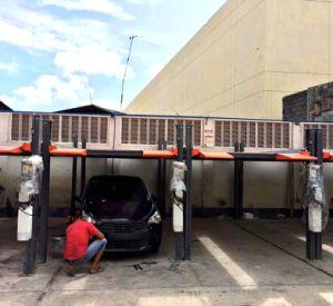 2自動二重プラットフォーム・カーの駐車上昇4のポストのスタッカー