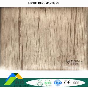 Decoratie van de Muur van de Bouw van het Comité van de Muur van pvc van de Film van de Aanpassing van de fabriek de pvc Gelamineerde