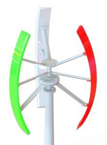 低い開始の風速1kw、2kw、3kw、5kwの縦の風力