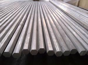 De Staaf van de Hexuitdraai van het aluminium, Aluminium om Staaf