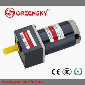 La tensión 12V/24V/90V 3D25-90 GS de 25W 70mm DC motorreductor