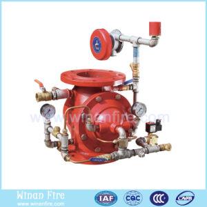 O sistema de sprinklers automáticos de incêndio do sistema de dilúvio válvula dilúvio