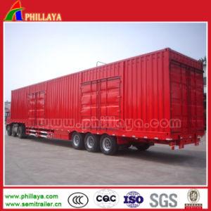 2017 assi caldi di vendita 3 60 tonnellate di Gooseneck della casella di rimorchio del camion da vendere