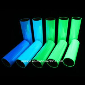 暗いPhotoluminescentフィルムの発光性にビニールの広がることのPVCペット物質的な白熱をE照らしなさい