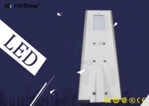 スマートな時間制御の屋外の照明統合された太陽電池パネルLEDライト
