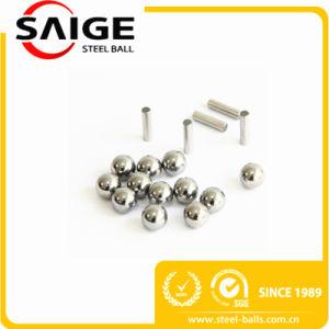 12mm AISI304/ AISI302 G100 RoHS ampla esfera de aço inoxidável