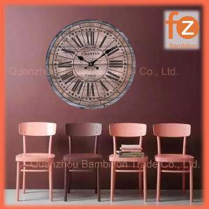 Caliente la venta de varios estilos innovadores comercio al por mayor Reloj de pared Pared Vintage Antiguo reloj redondo de madera para la decoración del hogar016006-88 Fz.