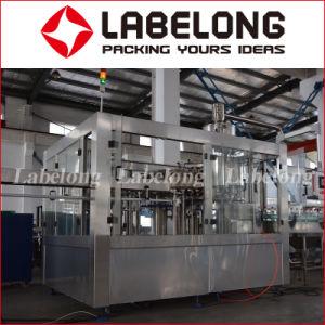 自動3000bph炭酸水・またはガス水ペットびんの充填機またはびん詰めにする機械