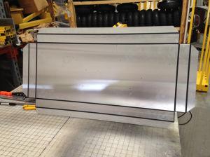 3mm 4 mm ACP PVDF de panneaux composites en aluminium pour la construction de décoration