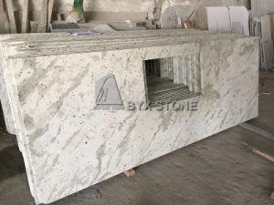 Andromeda White Granite Countertop per Bathroom e Kitchen