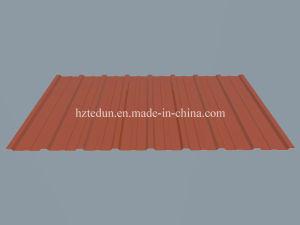 Panneau de toit en acier galvanisé ondulé avec prix