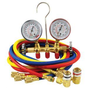 R134A do HVAC, medidor do coletor do medidor do coletor de pressão de ar condicionado