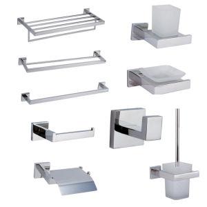 Salle de toilette en acier inoxydable de toilettes Bath Hotel salle de bains Accessoires de toilette