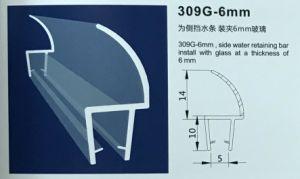 309g6mm de Strook van de Magnetische Verbinding van pvc van de Bijlage van de Douche van de Badkamers van pvc