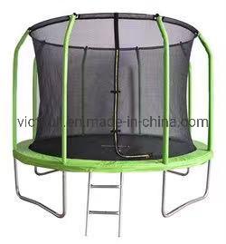 10FT Piscina grande trampolim com rede de segurança com fibra de Equipamentos Desportivos