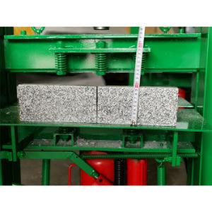 Manual de blocos de alvenaria Cortador de pedra para bloquear