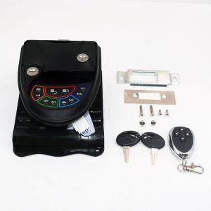 Serrure de porte sans clé avec la poignée et contrôleur pour RV à distance en voiture, caravane, camping-car et de remorque