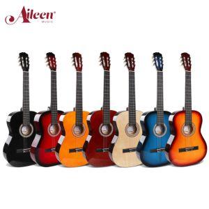 """Muy buen precio 39"""" de Guitarra Clásica guitarra para principiantes (AC851)"""