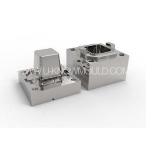 Gran capacidad de almacenamiento de los hogares de molde Cesta Landury Cesta molde de inyección de plástico